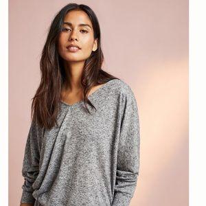 Anthropologie Pullover Tee Sweatshirt Eberjey NEW